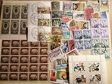 Petit reste de timbres de plusieurs pays - fragment - etc. LOT 1.
