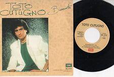 TOTO CUTUGNO disco 45 giri BUONANOTTE  made in ITALY 1986