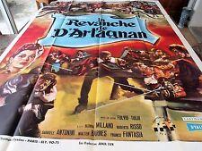 Affiche de cinéma 160x120 Revanche de D'artagnan 1963