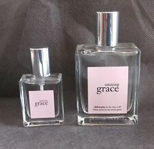 PAIR Philosophy Amazing Grace 2.0 oz & 0.5 oz EDT Spray Womens Perfume 99% FULL