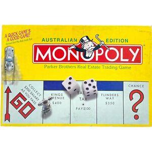 Australian Edition Monopoly Property Trading Board Game Koala Parker Brother VTG