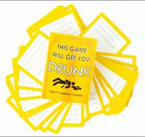 This Game Will Get You Drunk Party Game