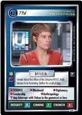 Star Trek CCG Enterprise Collection T'Pol FOIL 55P
