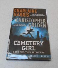 Cemetery Girl by Charlaine Harris & Christopher Golden, SIGNED, 1st Ed, HC/DJ