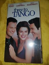 Three to Tango (VHS, 2000) NEW and Sealed