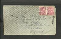 BRITISH NEW SOUTH WALES 1908 COVER TO ENGLAND, PADDINGTON CANCEL NICE