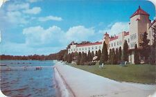1951 Our Lady Of The Lake Seminary, Lake Wawasee, Indiana Postcard
