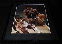 Oscar Robertson Framed 11x14 Photo Display Bucks vs Bullets