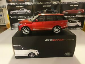 LAND ROVER - RANGE ROVER - WELLY GTAUTOS - 1/18 ROUGE REF 11006MB EN BOITE