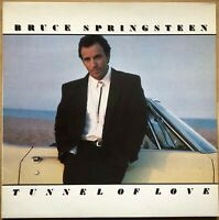 BRUCE SPRINGSTEEN TUNNEL OF LOVE 1ST PRESS 1987 UK CBS VINYL LP 460270 1 EX / EX