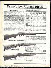 1999 REMINGTON Model 597 22 LR, LSS, Magnum Rimfire Rifle AD