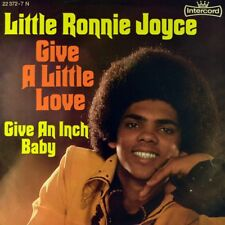 """7"""" LITTLE RONNIE JOYCE Give A Little Love/An Inch Baby INTERCORD Glam Rock 1975"""
