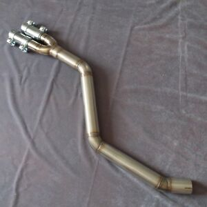BMW E46 330D stainless steel 2nd decat exhaust delete