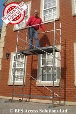 SUPER 4m DIY Aluminium Scaffold Tower / Towers Made in EU - others made in China