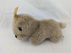 "Dakin Brown Rabbit Baby Bunny Plush 3"" 1982 Stuffed Animal Toy"