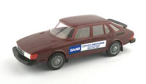 Vintage Stahlberg (Finland) 1/20 Plastic Saab 900 Turbo - Dealer/Promo Model