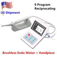 Reciprocating Dental Endodontic Brushless Electric Endo Motor 9 program Dentist