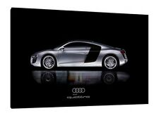 Audi R8 - 30x20 Inch Canvas - Framed Picture Print Poster