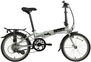 DAHON MARINER D8 BRUSHED ALLOY LIMITED EDITION