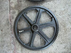 Massey Harris Pony MH Tractor good working main transmission drive bowl gear