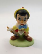Vintage 1987 Pinocchio Disney Collection Company Hand Painted Porcelain Figurine