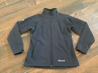 Marmot Men's Full Zip Black Coat Jacket - Size Medium