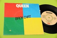 "QUEEN 7"" BACK CHAT ORIG ITALY 1982 DISCO EX !!!"