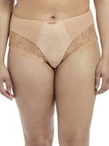 Elomi Tia Taille Haute Slip 4285 Culotte Grande Taille - Dune