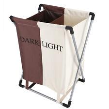 Folding Laundry Hamper Basket Washing Clothes Bin Sorter Bag Storage Bathroom US