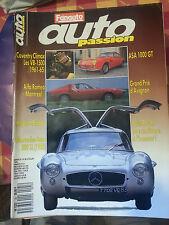 auto passion n 25 juillet 1989 mercedes 300 sl alfa montreal asa 1000 gt