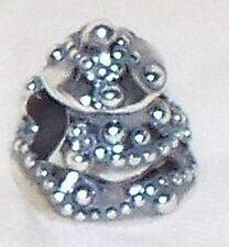 NEW 925 sterling silver Kera Christmas tree bead,holiday tree charm,5.1 gram