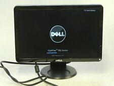 "Dell S1709WC Widescreen 17"" Monitor Flat Panel LCD w/ Stand & Cord - TESTED *A*"