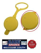 HOLDEN COMMODORE YELLOW WASHER BOTTLE CAP WITH LOGO VL VN VP VR VS