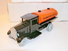 Spec Cast Pressed Steel Toy Vintage Clarksville Oil Tanker 1:18