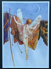 Blank Art Note Card LAUNDRY FAIRY sprite NOS Pleiades Press #132 The Tempest