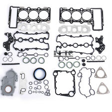 Engine Cylinder Head Manifold Gaskets Oil Seals Repair Kit For AUDI A4 A6 3.2 V6