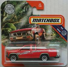 Matchbox 1995 Nissan Hardbody D21 Pickup Truck rot Neu/OVP MBX Mattel red ´95
