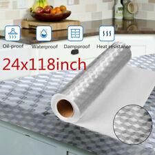 Aluminum Foil Wall Sticker Waterproof Oilproof Self Adhesive Locker Kitchen Cube