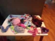 large lot of 35+ barbie doll clothes