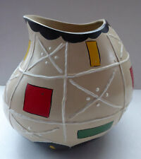 Brentleigh Ware - Susa - Gourd Shaped Vase 1950's -  rarer beige coloured