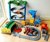 Huge Thomas Take n Play Bundle - Tidmouth Sheds Shark Exhibit Trains And Track