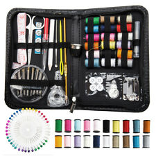 134 PC Sewing Kit Case Needle Thread Tape Scissor Portable Travel Handcraft Kit