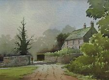 DUNCAN RUSSELL - Original Signed Watercolour - WESTERHAM, KENT