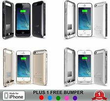 iPhone 5 / 5S / SE Battery Case Slim Charger Cover Portable Charging Power Bank