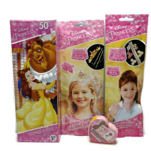 Disney Princess Belle Beauty 50pc Puzzle, Magic Towel, Glow Bracelet & Crown