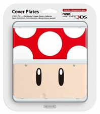 Nintendo 3ds Cover Plate Red Toad Super Mario 1up Mushroom
