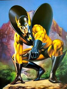 Marvel Yellow Jacket Comic Artwork Boris Vallejo Avengers Darren Cross Ant Man