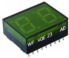 VQE23 F 14-Segment-LED-Anzeige Lichtschachtanzeige 2-stellig VQE 23 F * NEU