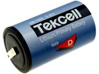 19000mAh Lithium Batterie ER34615SB/CNR mit Lötfahnen 3,6V Größe D TEKCELL
