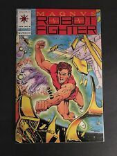 MAGNUS ROBOT FIGHTER #8 VALIANT-1993  9.8 NM-MT WHITE PAGES